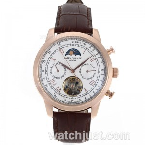 Replica Patek Philippe Astronomical Celestial Tourbillon Automatic Rose Gold Case Roman Markers