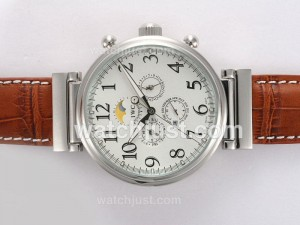 Replica Iwc Da Vinci Perpetual Calendar Automatic With White Dial Watch